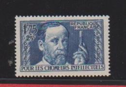 N 328  //  1 Franc 75 + 25 Centimes Bleu  Neuf  Avec Défaut De Gomme - Unused Stamps