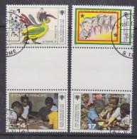 Sao Tome E Principe 1979 Year Of The Child 4v (2 Gutter) Used (30188) - Sao Tome En Principe