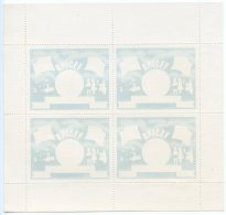 Liberia, 1954, UNICEF, Flags, Children, MNH Perforated Color Proof Sheet, Michel 460 II - Liberia