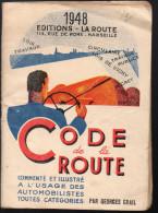 Code De La Route 1948 (F.0076) - Livres, BD, Revues
