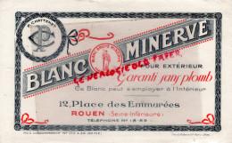 76 - ROUEN - BUVARD P. CHATTENET- BLANC MINERVE- 12 PLACE DES EMMUREES - Unclassified