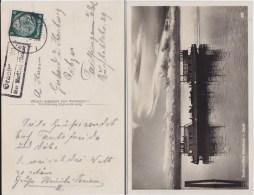 DR 3 Reich Mi 516 Landpost Stempel Grasbeuren ü Markdorf Baden Kte 1934 - Allemagne