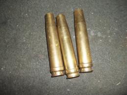 Lot De 3 Douilles 20mm Allemand Ww2 - Sammlerwaffen