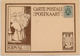 LCIRC6 - BELGIQUE EP CP ORVAL SERIE DE 6 AVEC ANGE BRUN NEUVE - Illustrat. Cards