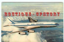 BOEING 707 De La COMPAGNIE AIR FRANCE - AVIATION - AVION - DOS SCANNE - 1946-....: Era Moderna
