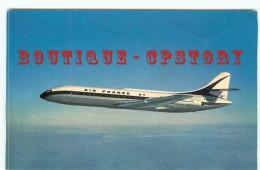CARAVELLE De La COMPAGNIE AIR FRANCE - AVIATION - AVION - DOS SCANNE - 1946-....: Era Moderna
