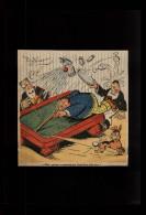 BILLARD - Dessin Issu D´une Revue De 1933 Collé Sur Feuille A4 - Vieux Papiers