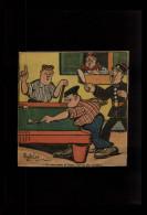 BILLARD - Dessin Issu D´une Revue De 1927 Collé Sur Feuille A4 - Vieux Papiers