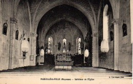 53 MARCILLE-la-VILLE  Intérieur De L'Eglise - Other Municipalities
