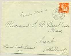 Nederlands Indië - 1935 - 12,5 Cent Wilhelmina Op Cover Van MAGELANG/3 Naar Soest / Nederland - Nederlands-Indië