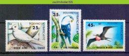 Mwe2286 FAUNA VOGELS STERN TERN FRIGATEBIRD BIRDS VÖGEL AVES OISEAUX POLYNESIE FRANCAISE 1980 PF/MNH # - Collections, Lots & Series