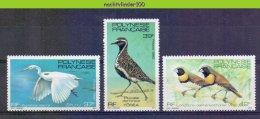Mwe2287 FAUNA VOGELS REIGER EGRET PLOVER BIRDS VÖGEL AVES OISEAUX POLYNESIE FRANCAISE 1982 PF/MNH # - Collections, Lots & Series