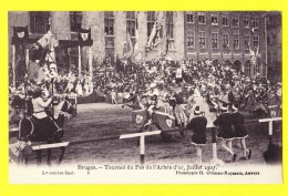 * Brugge - Bruges (West Vlaanderen) * (Climan - Ruijssers, Nr 6) Tournoi Du Pas De L´arbre D´or 1907 Combat Final Cheval - Brugge