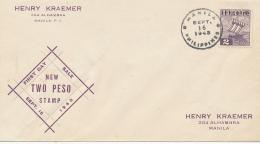 Japanese Occupation Of The Philippines - 16.9.1943 - 1926-89 Emperor Hirohito (Showa Era)