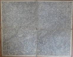 Waldbröl - Topographische Karte Mit Leinenverstärkten Falzen 30cm X 37cm - Topographische Karten