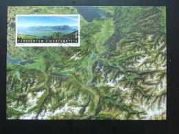 Carte Maximum Card Image Satellite Liechtenstein 2007 Ref 275 - Cartoline Maximum