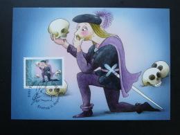 Carte Maximum Card Hamlet BD Oskar Weiss Liechtenstein 2012 Ref 353 - Bandes Dessinées