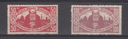 Danzig 1923,2V,Mi 131-2,kleinrentnerhilfe,MNH/Postfrisch(E4839us)