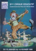 Programme Cirque éducatif De Reims 1990 - Vieux Papiers