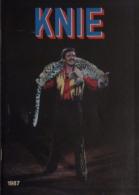 Programme Knie 1987 - 2ème édition - Collections