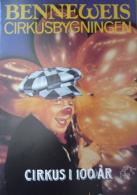 Programme Cirkus BENNEWEIS  1987 - Copenhage - Vieux Papiers