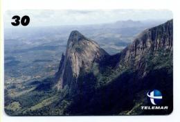 Montagne Mountain Télécarte Telefonkarte Brésil Phonecard (D 539) - Mountains