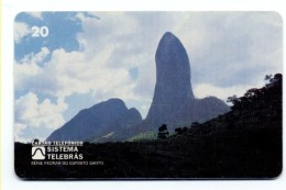 Montagne Mountain Télécarte Telefonkarte Brésil Phonecard (D538) - Mountains