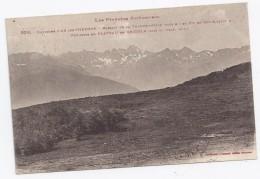 Cpa Les Pyrénées-ariégeoises 828 Environs  D'ax-les-thermes Massifs De La Tute-de L'ours (2259 M) Et Pic De Rulle... - Non Classés