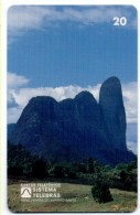 Montagne Mountain Télécarte Telefonkarte Brésil Phonecard (D 536) - Mountains