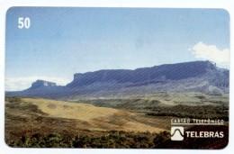 Montagne Mountain Télécarte Telefonkarte Brésil Phonecard (D 537) - Mountains