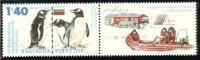 BULGARIA \ BULGARIE - 2012 - Antarctica - 1v ** + Vignet - Pinguini
