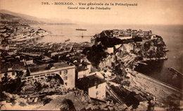 MONACO - Vue Générale De La Principauté - Monaco