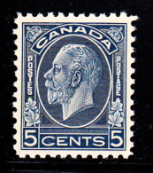 Canada MNH Scott #199 5c George V Medallion Issue - Neufs