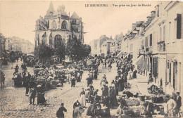 27- LE NEUBOURG - VUE PRISE UN JOUR DE MARCHE - Le Neubourg