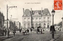 LA GARE SAINT MARTIN-BE - Caen