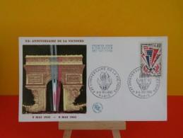 FDC, Anniversaire De La Victoire - Paris - 8 & 9.5.1965 - 1er Jour - Coté 3,70 € - FDC