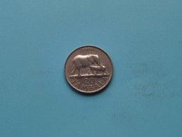 1971 - 20 Tambala / KM 11.1 ( Uncleaned - For Grade, Please See Photo ) ! - Malawi