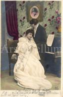 Postcard / CPA / Romantic / Romantique / Amour / Couple / Ed. M. F. Paris / Unused - Noces