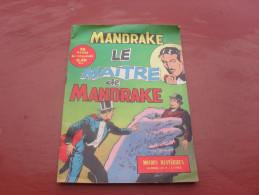 Mandrake  Le Maitre De Mandrake  N°7    1963 - Mandrake