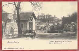 LUXEMBOURG - Nels Luxembourg Série 4 N° 92 - Chapelle Supérieure De St Quirin - Luxembourg - Ville