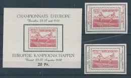 Bl 29 + PR 117/8 **   Cote 115.00 - Blocks & Kleinbögen 1924-1960