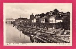 78 YVELINES MANTES-SUR-SEINE, Les Bords De La Seine,  (CAP) - Mantes La Jolie