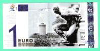 Euro Di Livorno Bar Sole 1 Euro  Italia  Buono Cartaceo Promozione Locale, Anno 2002.  Facsimile Prova Privata. - Essais Privés / Non-officiels