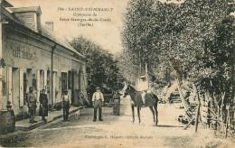 Saint Frimbault  ; Café - France