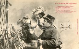 Postcard / CPA / Romantic / Romantique / Amour / Couple / Humor / A. Bergeret / 1903 - Bergeret