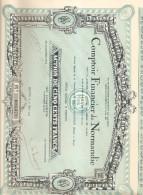 ROUEN COMPTOIR FINANCIER DE NORMANDIE ME DEFOUGY NOTAIRE 1929 - Banca & Assicurazione