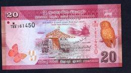 Sri Lanka 20 Rupees FDS/UNC - Sri Lanka