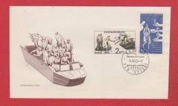 Tchecoslovaquie  --  Enveloppe Praha  5/9/1965 - Tschechoslowakei/CSSR