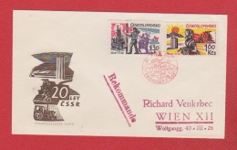 Tchecoslovaquie  --  Enveloppe Praha  5/5/1965 - Tschechoslowakei/CSSR