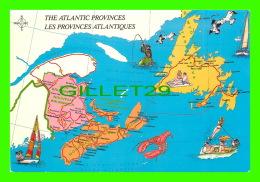 MAPS, CARTES GÉOGRAPHIQUES -  LES PROVINCES ATLANTIQUES - DEXTER SOVEREIGN - - Cartes Géographiques